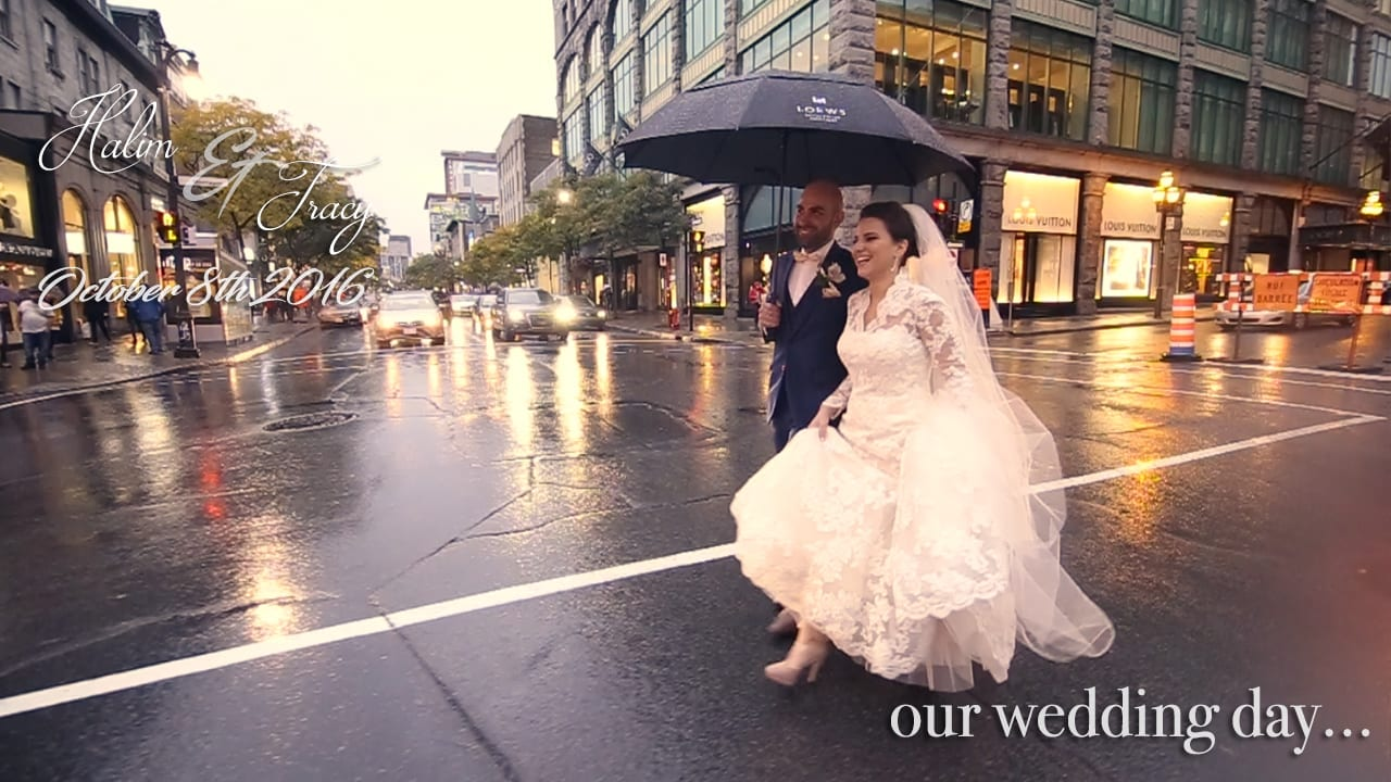 Montreal videographers for wedding